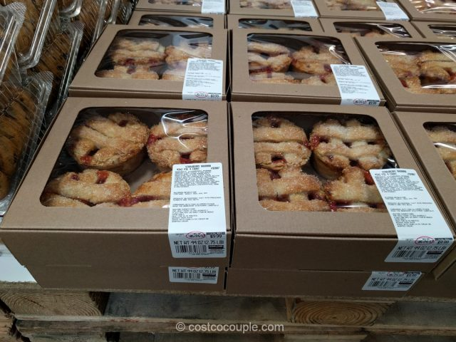 Kirkland Signature Strawberry Rhubarb Mini Pie Costco