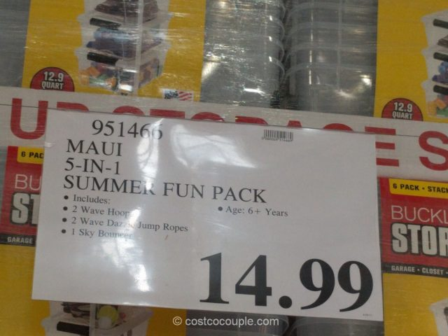 Maui 5-in-1 Summer Fun Pack Costco