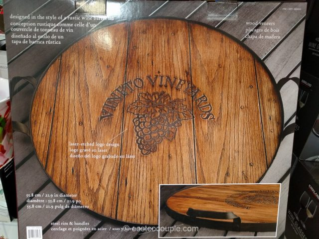 Mercuries Wine Barrel Tray Costco