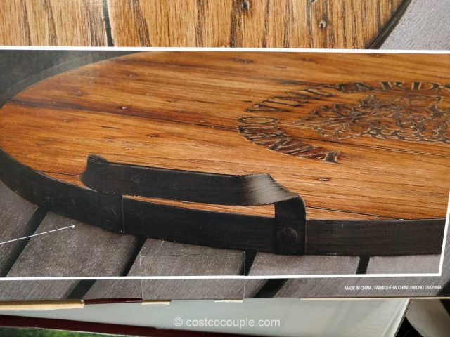 Mercuries Wine Barrel Tray
