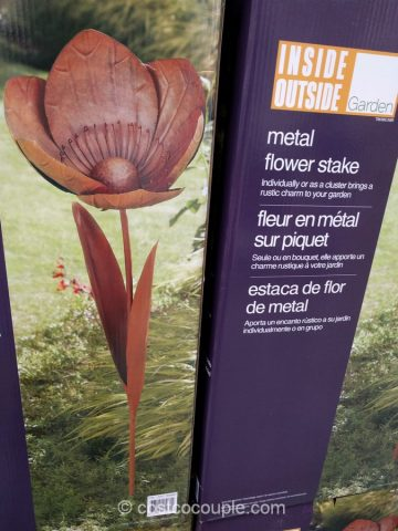 Metal Flower Stake Costco ...