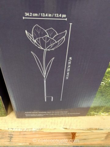 Metal Flower Stake Costco