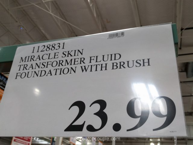 Miracle Skin Transformer Fluid Foundation Costco