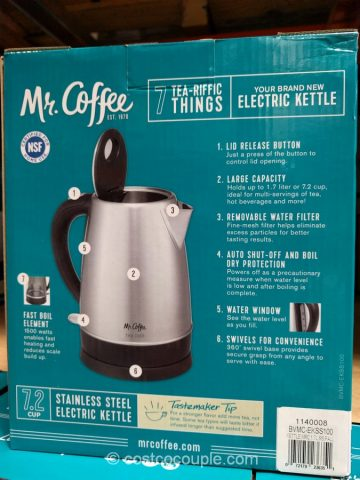 Mr Coffee Electric Kettle Costco