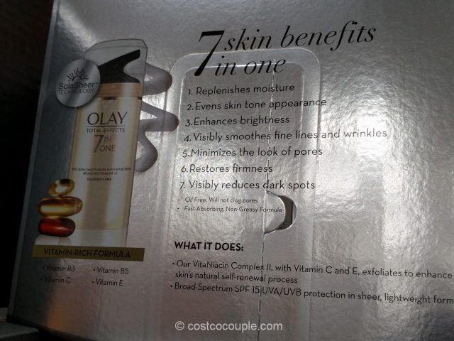 Olay Total Effects SPF 15 Costco