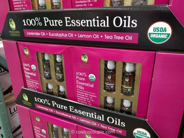 Paradise Springs Organic Essential Oils Costco