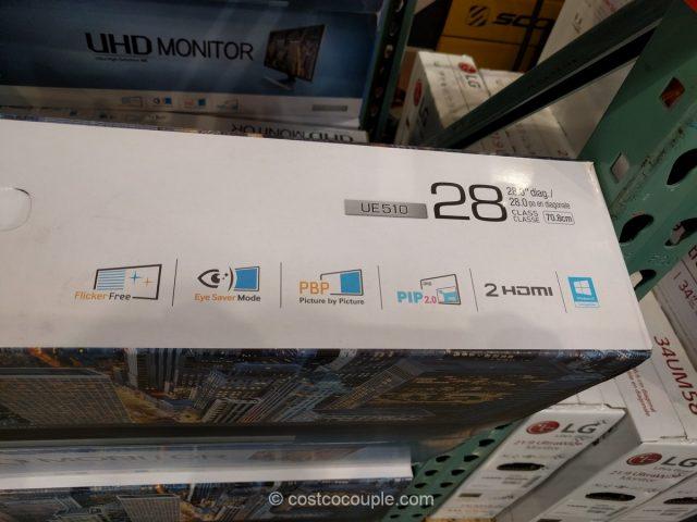 Samsung 28-Inch 4K UHD Monitor Costco