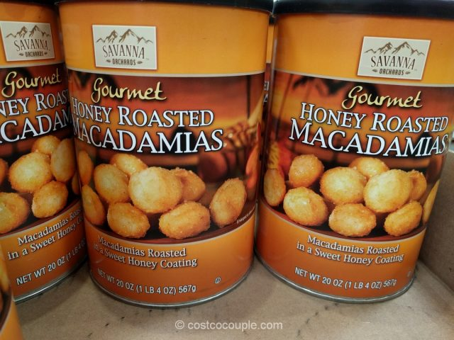 Savanna Orchards Honey Roasted Macadamias Costco
