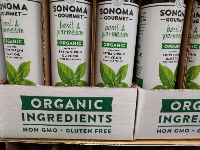 Sonoma Gourmet Organic Basil Parmesan Oil