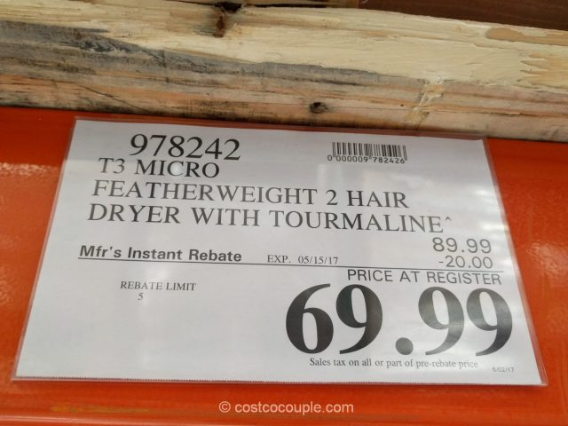 T3 Micro Featherweight 2 Hair Dryer