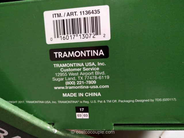 Tramontina Pre-seasoned Cast Iron Skillet Set Costco