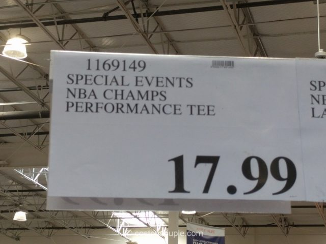 2017 NBA Champions T-Shirt Costco