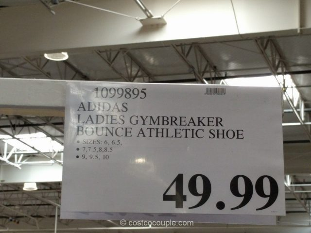 Adidas Ladies Gymbreaker Bounce Athletic Shoe Costco