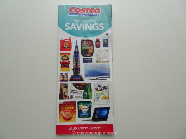 Costco July 2017 Coupon Book 1