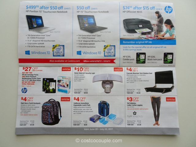 Costco July 2017 Coupon Book 4