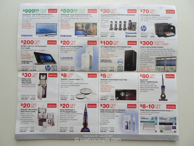 Costco July 2017 Coupon Book 5