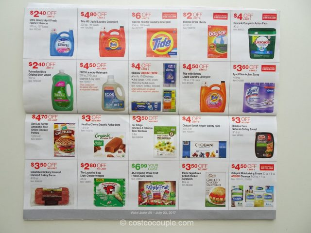 Costco July 2017 Coupon Book 8