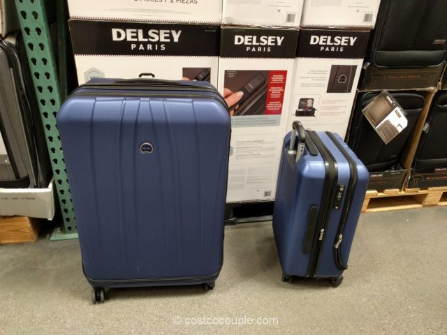 Delsey 2-Piece Hardside Spinner Set Costco