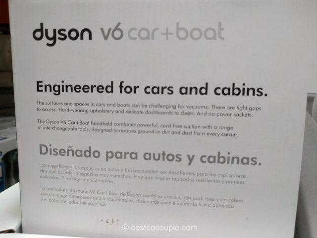 Dyson V6 Car Boat Handheld Vacuum