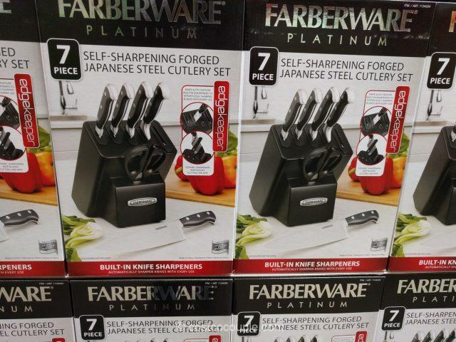 Farber Self Sharpening Knife Block Set Costco