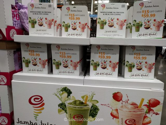 Jamba Juice Gift Card Costco