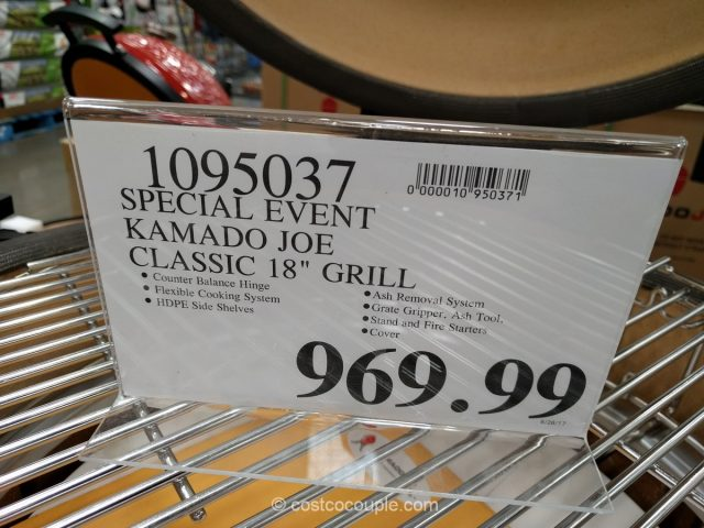 Kamado Joe Grills Special Event Costco