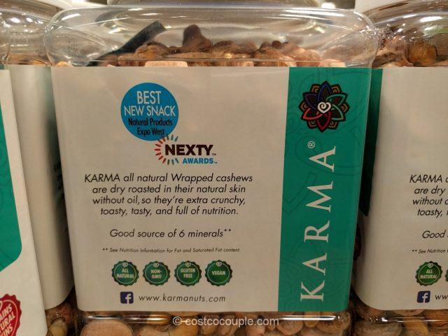 Karma Nuts Wrapped Cashews Costco