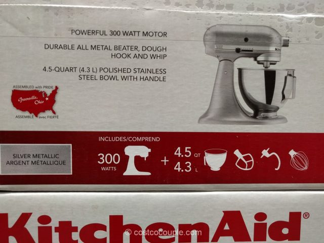 KitchenAid 4.5 Qt Stand Mixer Costco