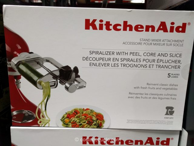 KitchenAid Spiralizer Attachment Costco