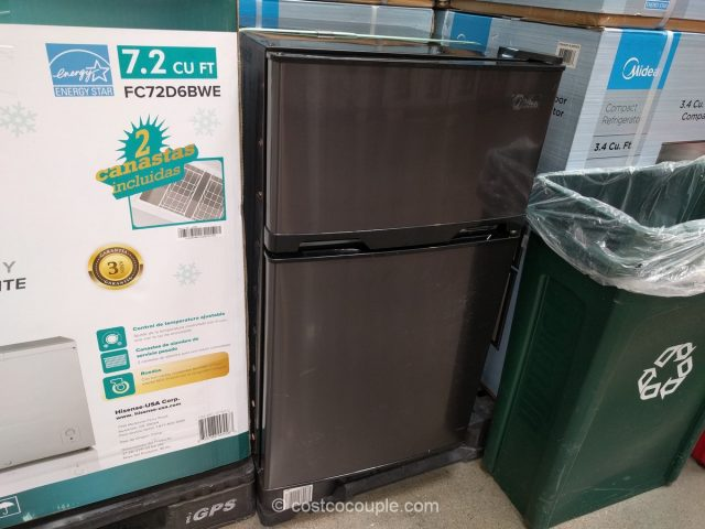 Midea Double Door Compact Refrigerator Costco