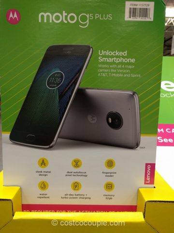 Moto G5 Plus Unlocked Smartphone Costco