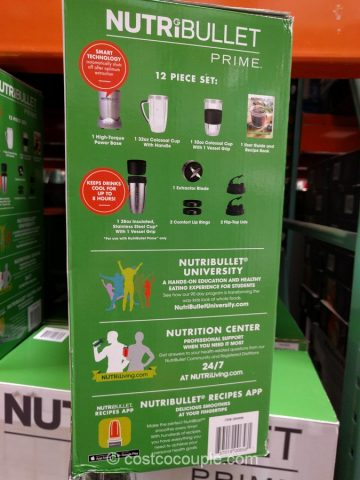 Nutribullet Prime Extraction System Costco