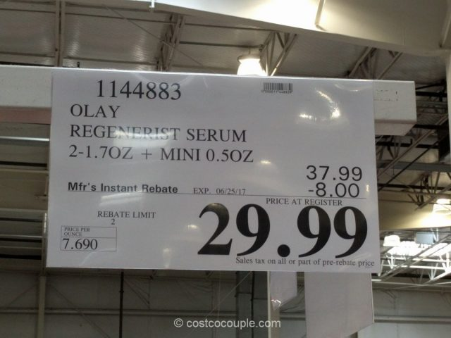 Olay Regenerist Serum Costco