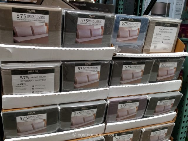 Pearl Collection Queen Sheet Set Costco
