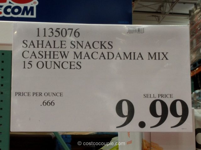 Sahale Snacks Cashew Macadamia Mix Costco