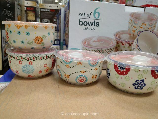 Signature Housewares Bowl Set Costco