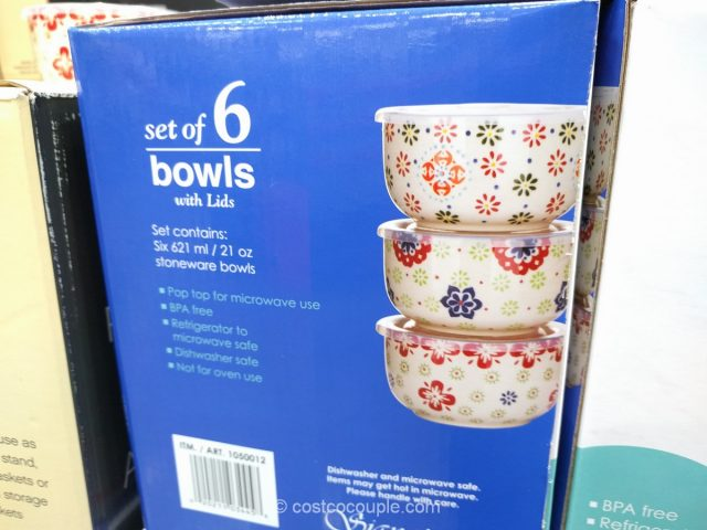 Signature Housewares Bowl Set