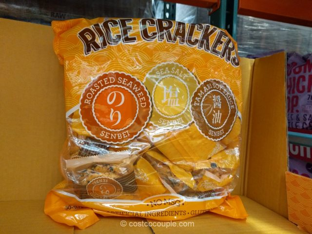 Sun Tropics Senbei Rice Crackers Costco