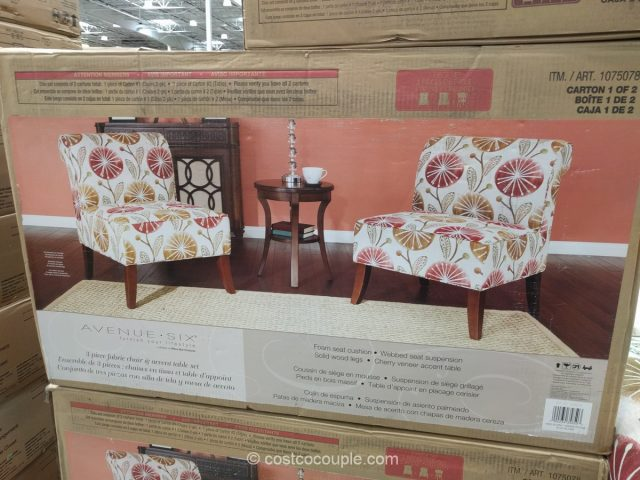 ... Ave Six 3 Piece Chair And Table Set Costco ...