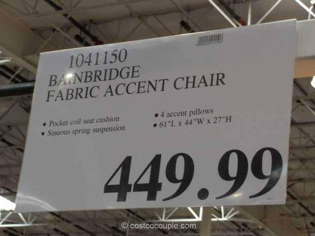 Bainbridge Fabric Accent Chair Costco
