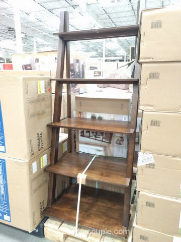 Bayside Furnishings Ladder Bookcase Costco