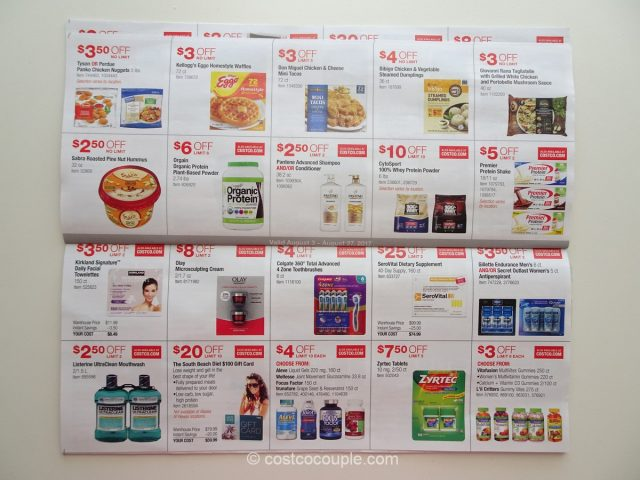 Costco August 2017 Coupon Book