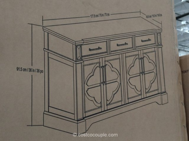 Craft and Main Accent Media Cabinet Costco
