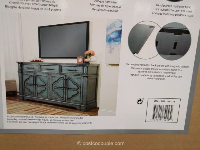 Craft and Main Accent Media Cabinet