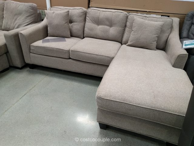 Fabric sofa chaise for Ava chaise lounge costco