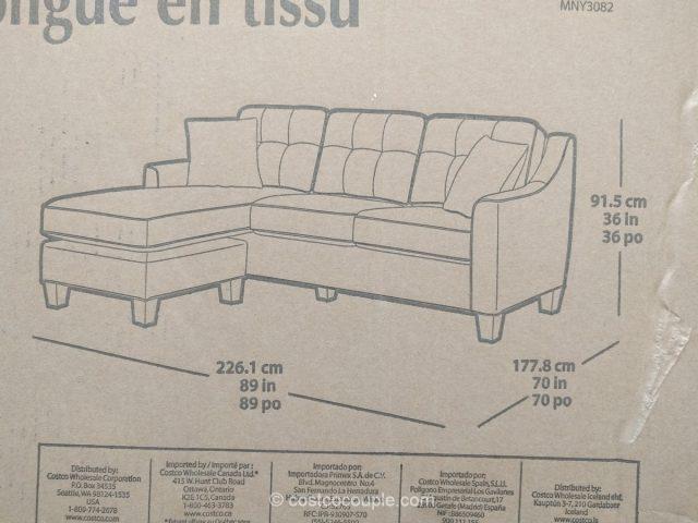 Fabric Sofa Chaise Costco