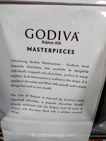 Godiva Chocolate Carmel Lions