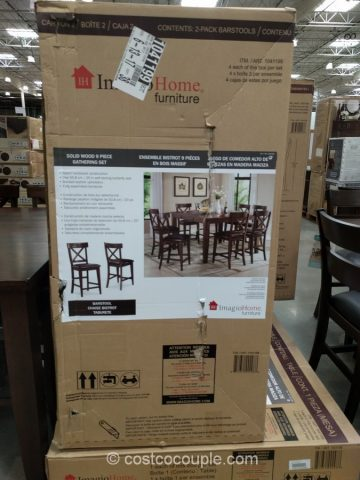Imagio Home Counter Height Dining Set Costco
