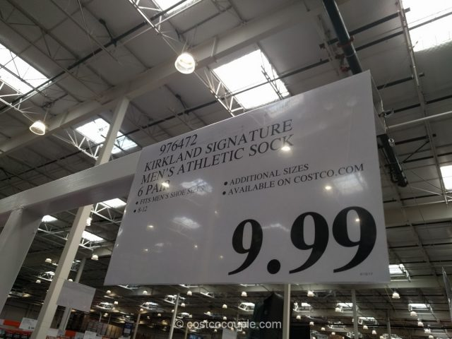 Kirkland Signature Athletic Socks Costco