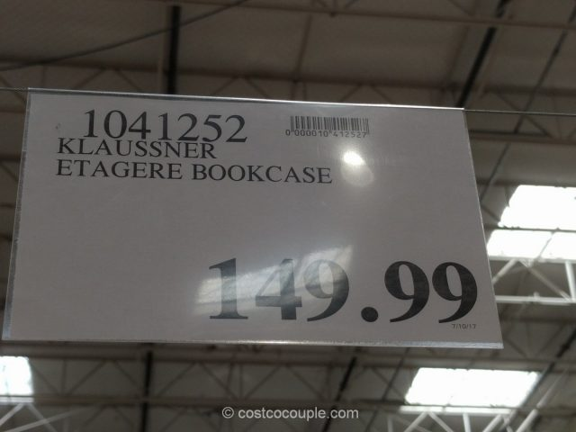 Klaussner Etagere Vitrina Bookcase Costco